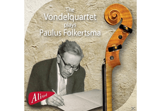 The Vondelquartet - Plays Paulus Folkertsma [CD]