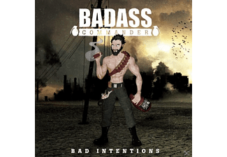 Badass Commander - Bad Intentions [CD]