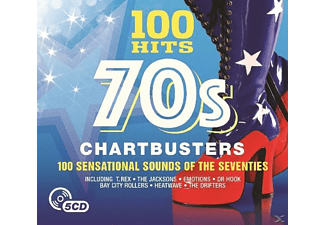 VARIOUS - 100 Hits-70's Chartbusters [CD]