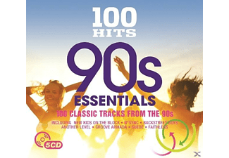 VARIOUS - 100 Hits-90's Essential - (CD)