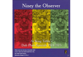 Niney The Observer - At King Tubby's-Dub Plate Specials 1973-1975 - (CD)