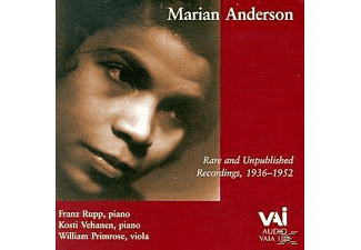 Marian Anderson - Marian Anderson Rare Und Unpublished Recordings [CD]