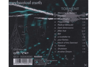 Mechanical Moth - Torment [CD]