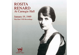 Rosita Renard - Rosita Renard At Carnegie Hall [CD]