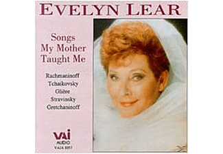 Evelyn Lear - Songs My Mother Taught Me - (CD)