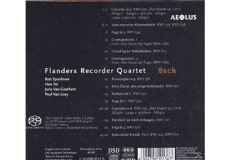 Flanders Recorder Quartet - Bach - (CD)