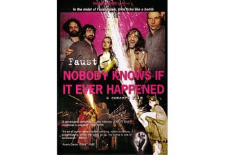 Faust - Nody Knows If It Ever Happened - (DVD)