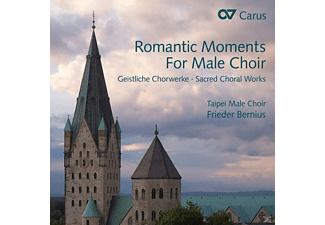 Bernius/Engels-Benz/Taipei Male Choir - Romantic Moments For Male Choir-Geistl.Chorwerk [CD]
