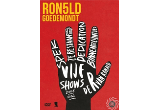 Ronald Goedemondt - 5 Shows | DVD