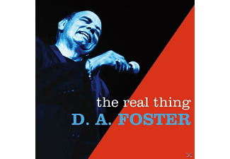 D.A. Foster - The Real Thing - (CD)