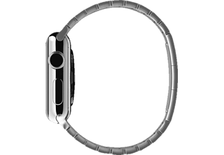 APPLE MJ5G2, Gliederarmband, Apple, Watch (38 mm Gehäuse), Silber