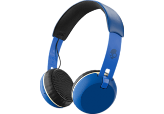 SKULLCANDY Grind wireless, Over-ear Kopfhörer, Blau