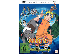 Naruto The Movie 3 - Die Hüter des Sichelmondreiches - (Blu-ray + DVD)