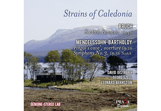 David Oistrach, State Symphony Orchestra Of Ussr Moscow, New York Philharmonic Orchestra, Cleveland Orchestra - Strains Of Caledonia - (CD)