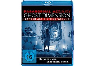 Paranormal Activity: The Ghost Dimension - (Blu-ray)