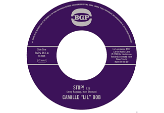 "Camille ""lil"" Bob - Stop!/Brother Brown - (Vinyl)"