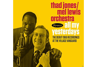 Thad Jones - All My Yesterdays - (CD)