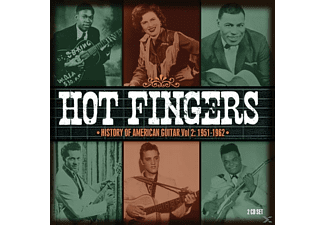 VARIOUS - Hot Fingers-History Of American Guitar Vol.2 - (CD)