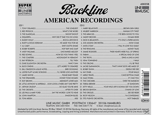 Various - Backline Vol.358 - (CD)