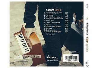 Stephane Trio Tsapis - Border Lines - (CD)