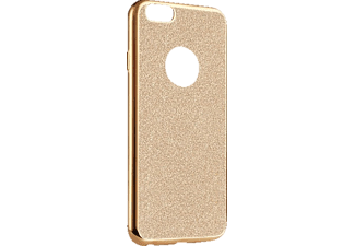 TELILEO 0108, Apple, Backcover, iPhone 6 Plus, iPhone 6s Plus, Kunststoff, Gold