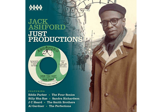 Jack Ashford - Jack Ashford-Just Productions [CD]