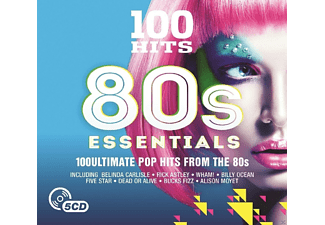 VARIOUS - 100 Hits-80's Essential [CD]