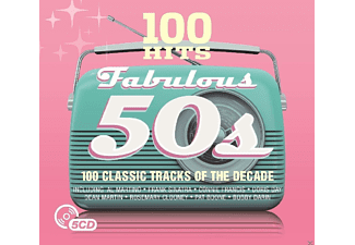 VARIOUS - 100 Hits-Fabulous 50's - (CD)
