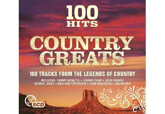 VARIOUS - 100 Hits-Country Greats - (CD)