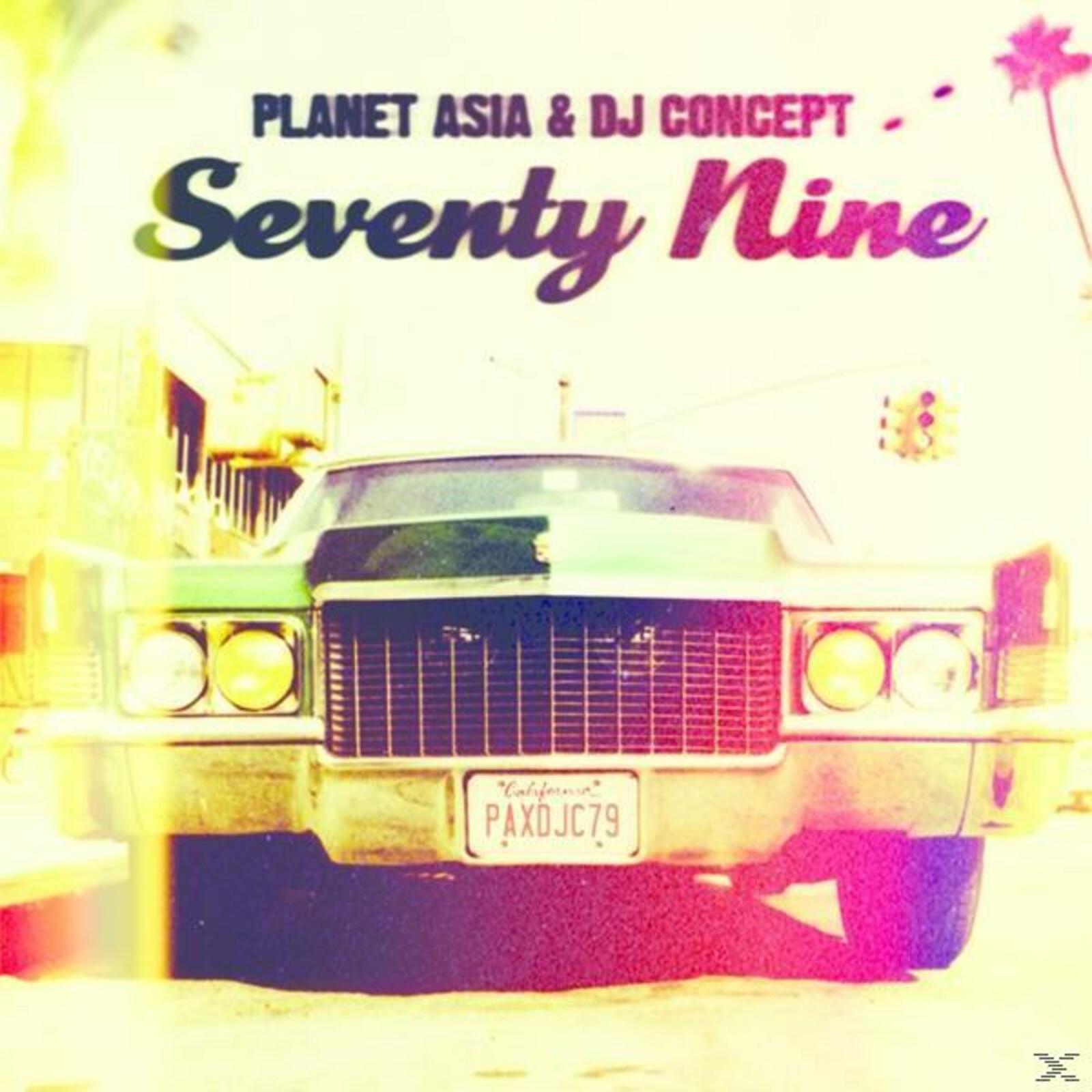 Planet Asia & Dj Concept - Seventy Nine [CD]