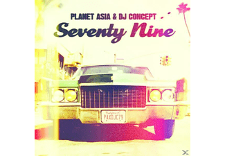 Planet Asia & Dj Concept - Seventy Nine [CD]