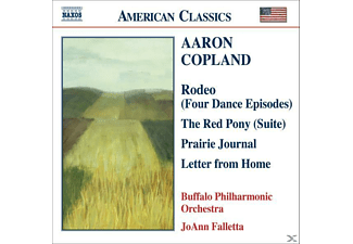 Buffalo Philharmonic Orchestra, Joann Buffalo Po & Falletta - Rodeo/Red Pony/Prairie Journal - (CD)