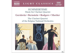 VARIOUS, The Clarinet Quartet Of The Belgian National Orchestra - Summertime - (CD)