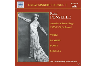 Rosa & Martinelli Ponselle, Rosa Ponselle - American Recordings Vol.1 - (CD)