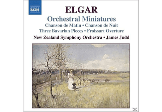 New Zeal Symphony Orchestra, Tilson/Judd/New Zealand Sym.Or - Orchestral Miniatures - (CD)