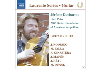 Jerome Ducharme - Gitarrenrecital - (CD)