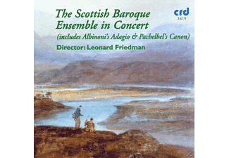 Scottish Baroque Ensemble - Scottish Baroque Ensemble In Concert - (CD)