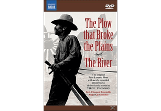 THE PLOW/THE RIVER - (DVD)