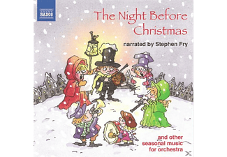 Stephen Fry - The Night Before Christmas - (CD)