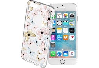 CELLULAR LINE 37389, Apple, Backcover, iPhone 6, iPhone 6s, Kunststoff, Transparent/Bedruckt