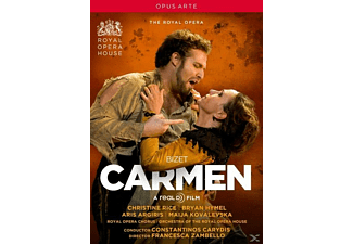 Bryan Hymel, Aris Argiris, Maija Kovalevska, Christine Rice, Orchestra Of The Royal Opera House - Carmen - (DVD)