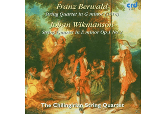 The Chilingirian Quartet - Berwald/Wikmanson Quartet - (CD)