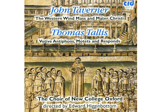 Edward/choir Of New College Oxford Higginbottom - Western Wind Mass/Motetten/Antiphons - (CD)