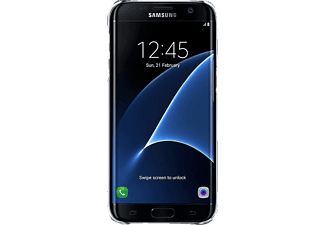 SAMSUNG Clear Cover Galaxy S7 Edge Black - (EF-QG935CBEGWW)