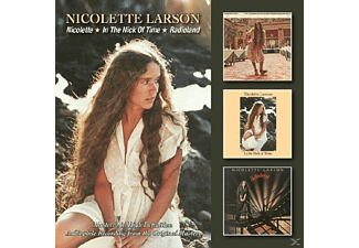 Nicolette Larson - Nicolette/In The Nick Of Time/Radioland - (CD)
