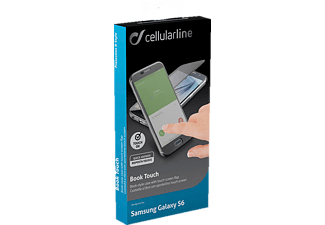 CELLULAR LINE 37369 Galaxy S6 Handyhülle, Schwarz/Transparent