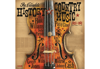 VARIOUS - Complete History Of Country Music 1923-1962 [CD]