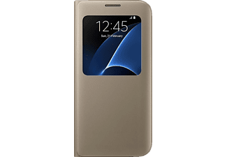 SAMSUNG S-View Cover Galaxy S7 Gold - (EF-CG930PFEGWW)
