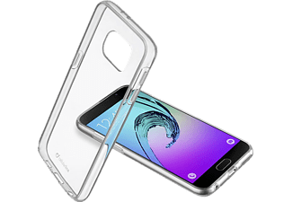 CELLULAR LINE 37381, Samsung, Backcover, Galaxy A5 (2016), Kunststoff, Transparent