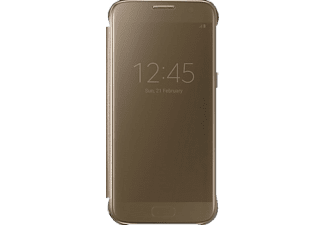 SAMSUNG Clear View cover Galaxy S7 Gold - (EF-ZG930CFEGWW)